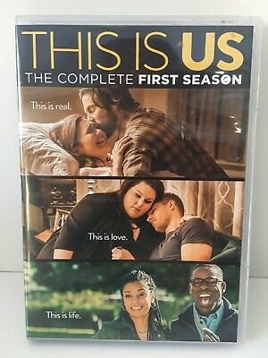 This Is Us: The Complete First Season (DVD, 2017, 5-Disc Set)