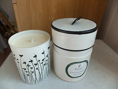 Parks candle in a jar Magnolia and Bay perfume. New and boxed.