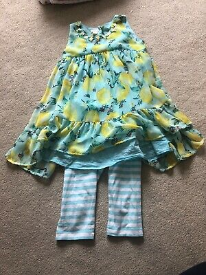 Girls Monsoon Outfit Age 4- Excellent Condition