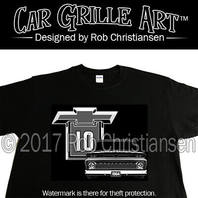 C10 Truck Shirt /'67-72 Year Bagged Truck Shirt Mens Black Classic Truck Shirt