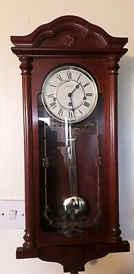 Made in Germany, Westminster Quarter Chime Wall Clock 1980s