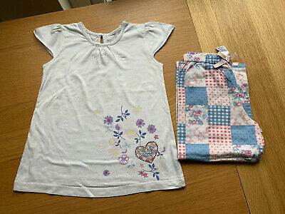 Girls M&S Marks & Spencer's Pyjamas PJs Age 3-4 Years