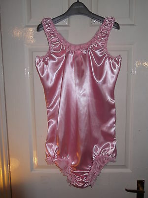 Adult Baby~Maids~Sissy~Unisex Gorgeous Satin & Lace All-In-One Body~Teddy