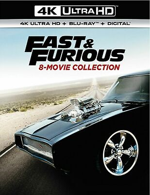 Fast & Furious 8-Movie Collection (4K+Blu-ray-NO DIGITAL) Read Description