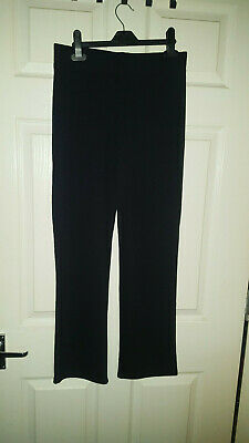 George Girls Black School Trousers