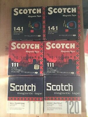 Scotch Magnetic Tape (6) 2-141 ,3-111, 1-120