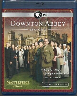Downton Abbey The Complete 2 Second Two Season DVD Set US Bluray Viewed Once