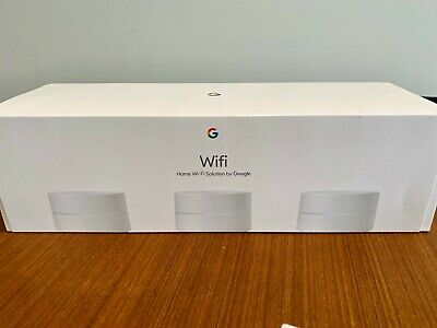 Google WiFi Dual Band Mesh Router - 3-Pack