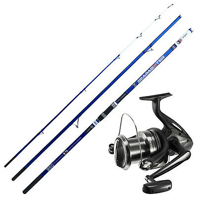 KP4369 Kit Pesca Surfcasting Canna Evo Seabasster 420 Mulinello Beastmaster CASG