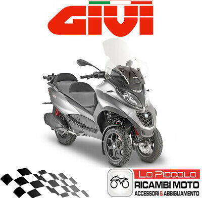 Specific Windscreen Transparent GIVI 5606A for Piaggio Beverly 300ie 2016