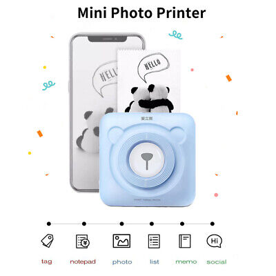 Peripage A6 Bluetooth pocket photo printer mini instant printer for Mobile Phone