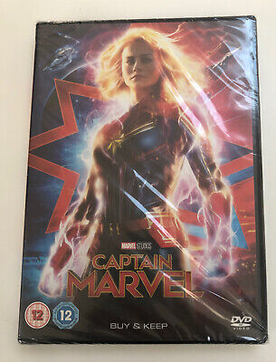 Captain marvel DVD Brand New Sealed