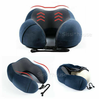 Memory Travel Pillow for Air Planes Neck Support Face Cradle Pillow Cushion