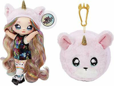 NA NA NA! Surprise 2-in-1 Fashion Doll & Plush Pom with Confetti Balloon, New!