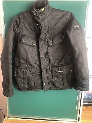 Girls Barbour International Jacket / Coat. Size L (Approx age 10/11)