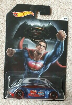 Long Card Hot Wheels Mattel Mad Manga Batman vs Superman Dawn of Justice