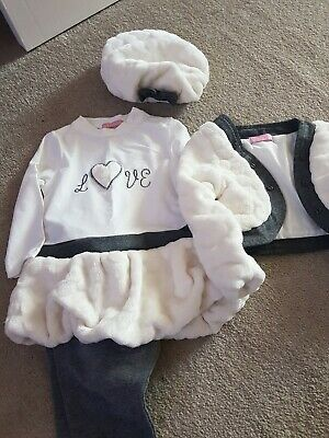 Spanish Girls winter Outfit 4 Piece Set 9/18 Months New