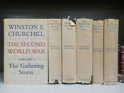 Winston Churchill - The Second World War - 1st Edition - 6 Books (ID:6533)