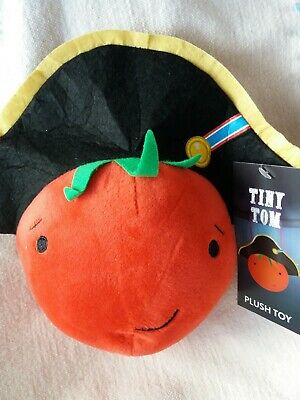 Aldi Kevin The Carrot - Tiny Tom Tomato 2019 Plush Soft Toy NEW