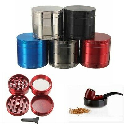 Tobacco Herb Spice Grinder 4 Layer Herbal Alloy Smoke Metal Chromium Crusher
