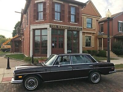 1973 Mercedes-Benz 200-Series  1973 Mercedes 280 SEL 4.5