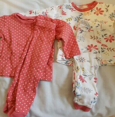 Nutmeg pyjamas 12-18 months girls