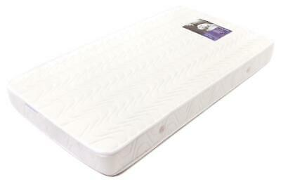 Babyrest Deluxe Innerspring Double Quilted Cot Mattress - 1300 x 690 x 125mm Fre