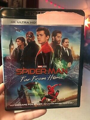 Spider-Man: Far From Home 4K Ultra HD Disc. No Blu Ray or Digital Code.