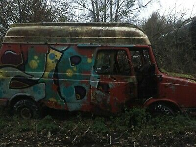 Selection of Vintage Vans and Cars - Non-Runners - Transit, Sprinter, MG, BMW,
