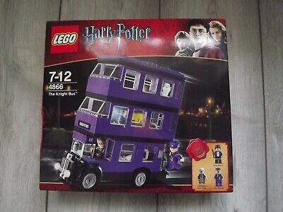 Lego Harry Potter The Knight Bus. Boxed, Complete, Age 7-12