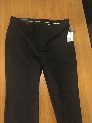 H&M - Smart black trousers - 36R - Brand new with tags