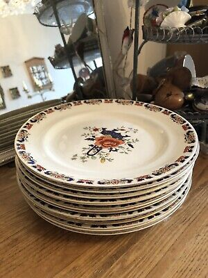 Vintage Marshall Fields 10 X Dinner Plates Good Condition Shabby Chic Style