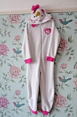 Girls Age 7-8 Years Unicorn All In One Fleece Jump Suit Minions Dispicable Me