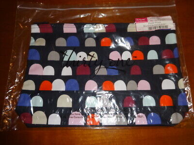 THIRTYONE Thirty One 31 Gifts Zipper Pouch - BRAND NEW - Gumdrop Spots