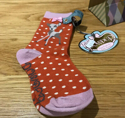 Bambi Girls Socks By Powder Of Scotland Age 2-4
