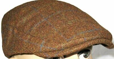 SALE Styles Hat UK Classic Flat Caps Check Choice of 3 Colours One Size