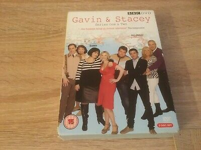Gavin and Stacey Series One and two - 3 Disc DVD Box Set