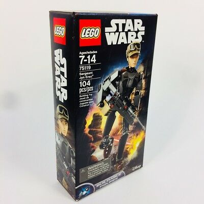 Star Wars Rogue One Sergeant Jyn Erso Buildable LEGO Action Figure - 75119