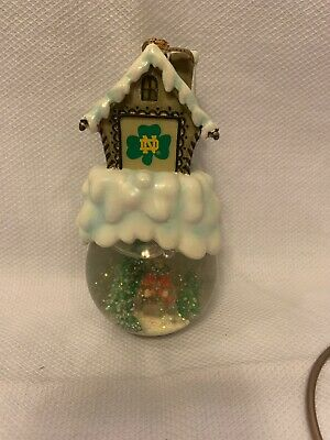 Univ. Of Notre Dame Ornament The Memory Comp. First In Limited Series