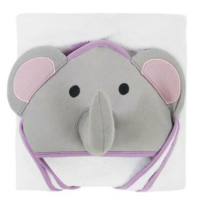 Little Haven Elephant Hooded Towel (Purple) Free Shipping!