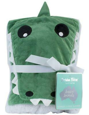 Bubba Blue Novelty Blankie (Crocodile) Free Shipping!