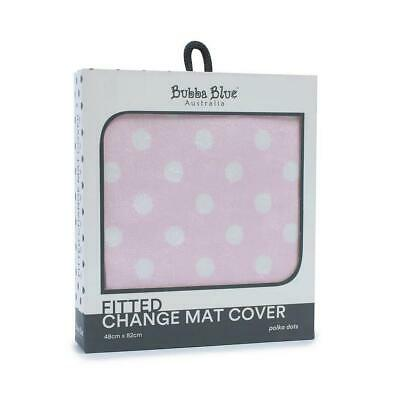 Bubba Blue Change Mat Cover (Pink Polka Dots) Free Shipping!