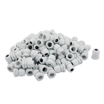 H● 100 Pcs PG11 Water Resistance Cable Gland Fixing Connector Joints Fastener.
