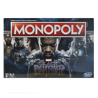Monopoly Game Black Panther Edition