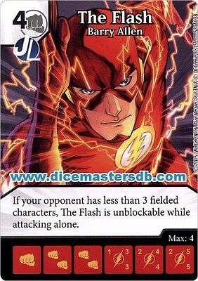 Justice League The Flash Barry Allen #52 DC Dice Masters