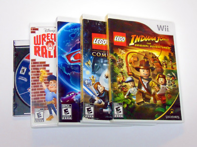 Nintendo Wii game Discs - Cleaned, Repaired, Tested