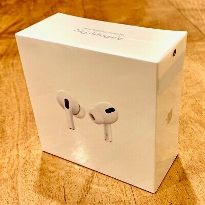 Apple AirPods Pro White With Wireless Charging Case - Brand New In Box (BNIB)