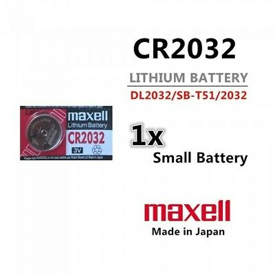 CR2032 3v 220mah Lithium Button Cell Battery - Melbourne Shipping