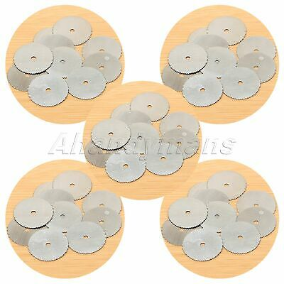 200Pcs Stainless Saw Disc Wheel Cutting Blades Power Drill Rotary Tool Wholesale