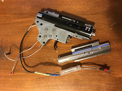 Airsoft APS Silver Edge Extreme 8mm German Bearing Gearbox V2 Version2 Rear Line